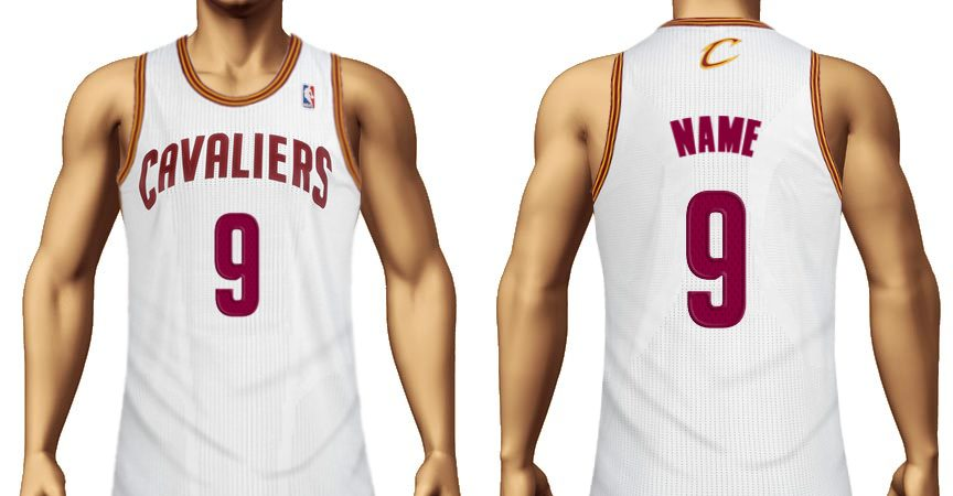 make your own cavs jersey