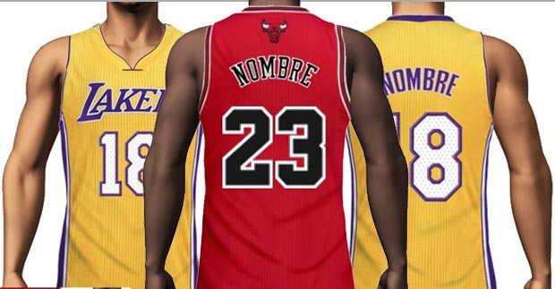 40bd86afd4a Create NBA jersey with your Name and Number.
